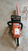 Stihl MS261C chain saw