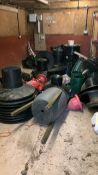 Contents of gamekeeping shed