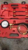 Pressure gauge test kit