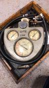 Vacuum oil compression test kit