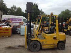 Hyster 2.5 ton diesel forklift