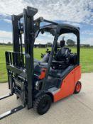 Linde H14 T Gas Forklift