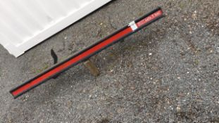 Safe-T-bar Sprinter full width bumper protection