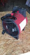 Elite EH1366EU 3kw fan heater