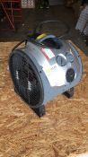 Elite EH1367 3kw fan heater