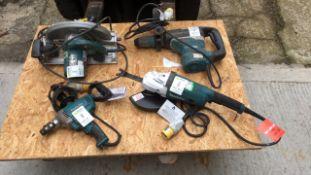Makita tools job lot (A752878, A945719, A713552 A6