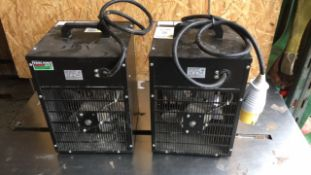 Elite 2.8kw EHFH110 heaters (A850304, A850546)