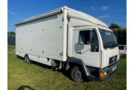 MAN 7.5 ton lorry