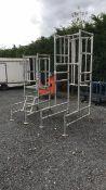 Podium scaffolding work platform job lot (A684318)