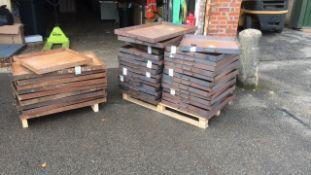 Steel drip trays job lot of 39,
