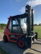 Linde H70d Diesel Forklift Twin Wheels
