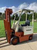 Nissan Electric Forklift Truck Container Spec