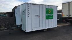 Mobile Welfare unit, Groundhog GP360, 6 person (A562010)