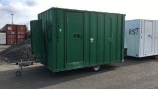 Mobile Welfare unit, Groundhog, GP360, 6 person (A540968)