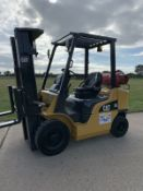 Caterpillar 2.5 Tonne Gas Container Spec Forklift