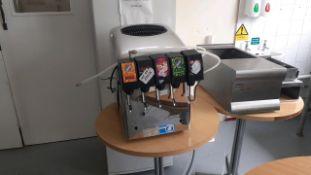 Cold drinks dispenser
