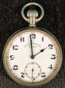 Offene ZENITH Herrentaschenuhr um 1900/ 20 für den türkischen Markt gefertigt.