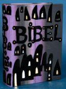 """""""Die Bibel"""" - von Friedensreich Hundertwasser illustrierte Bibel in orig. Schub"""