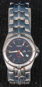 Tissot PR 200 Herrenarmbanduhr, Stahl, Modell P 150 / 250, Datum auf der 4, zen