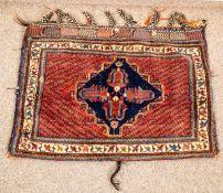 Afshar - Satteltasche, Südostpersien, Anfang 20. Jhd. Wolle geknüpft auf Wolle.