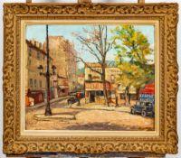"""""""Le Pont de Grenelle"""" (Paris) - Unsigniertes Gemälde, wohl der 1930er/40er Jahr"""