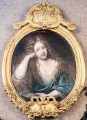 Großes ovales Portrait, Pierre Mignard ( Ä., Troyes 1612 - 1695 Paris) zuzuschr