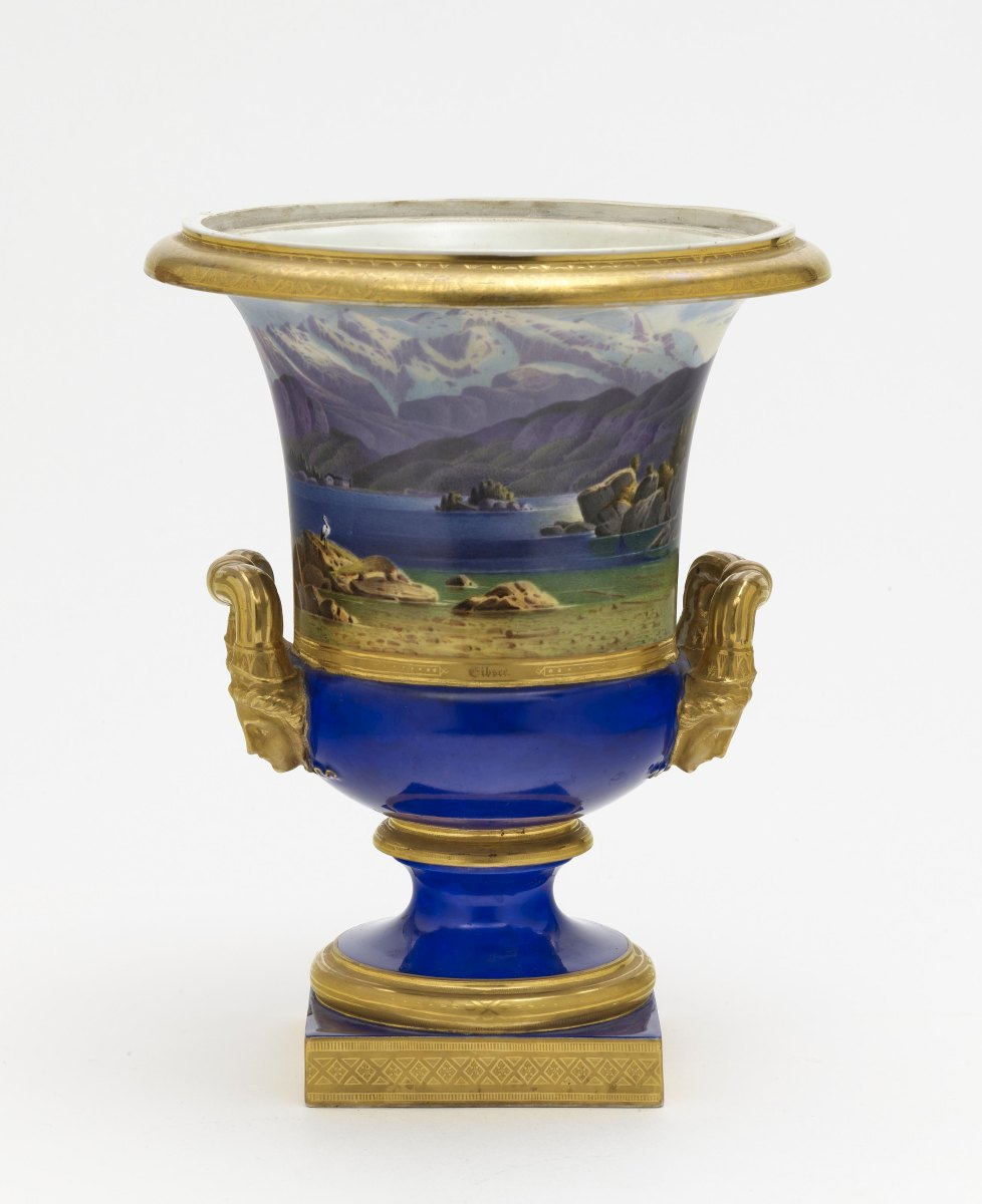 A krater vase - Image 2 of 2