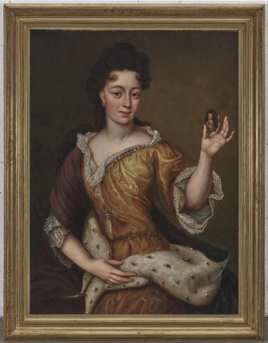 Frankreich (Martin Maingaud, 1692-1706 für Kurfürst Max Emanuel in Brüssel und München täti - Image 2 of 2
