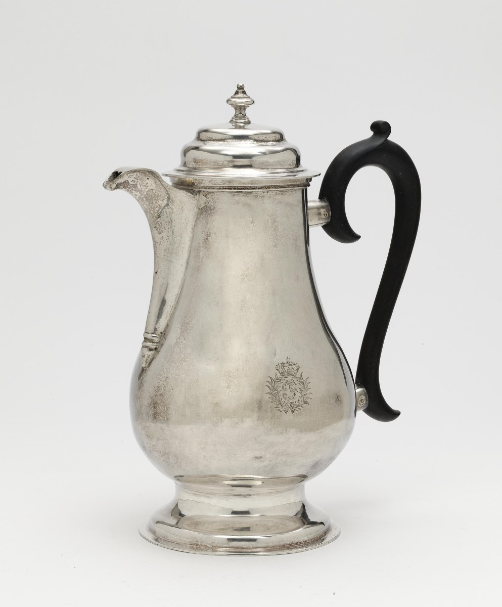 A large coffee pot