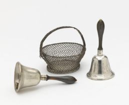 A pair of hand bells