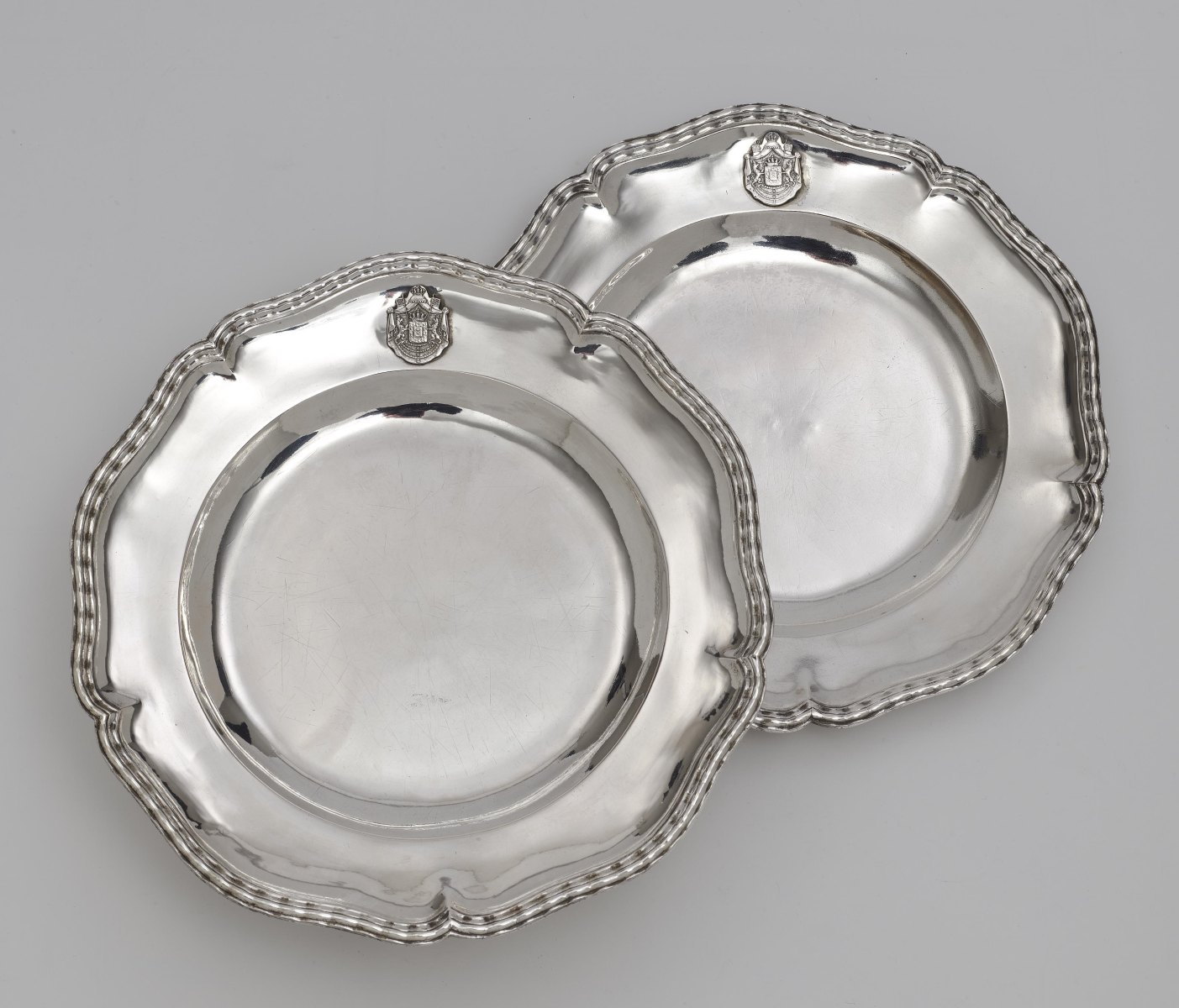 """Six plates from the so-called """"Bamberg Service"""" ATTENTION Lot 3-6 will be sold after lot 67"""