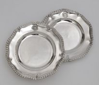 """Six plates from the so-called """"Bamberg Service"""""""