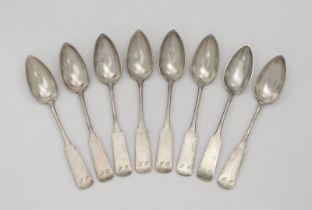 Eight spoons