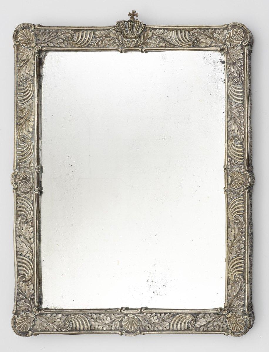 A dressing mirror