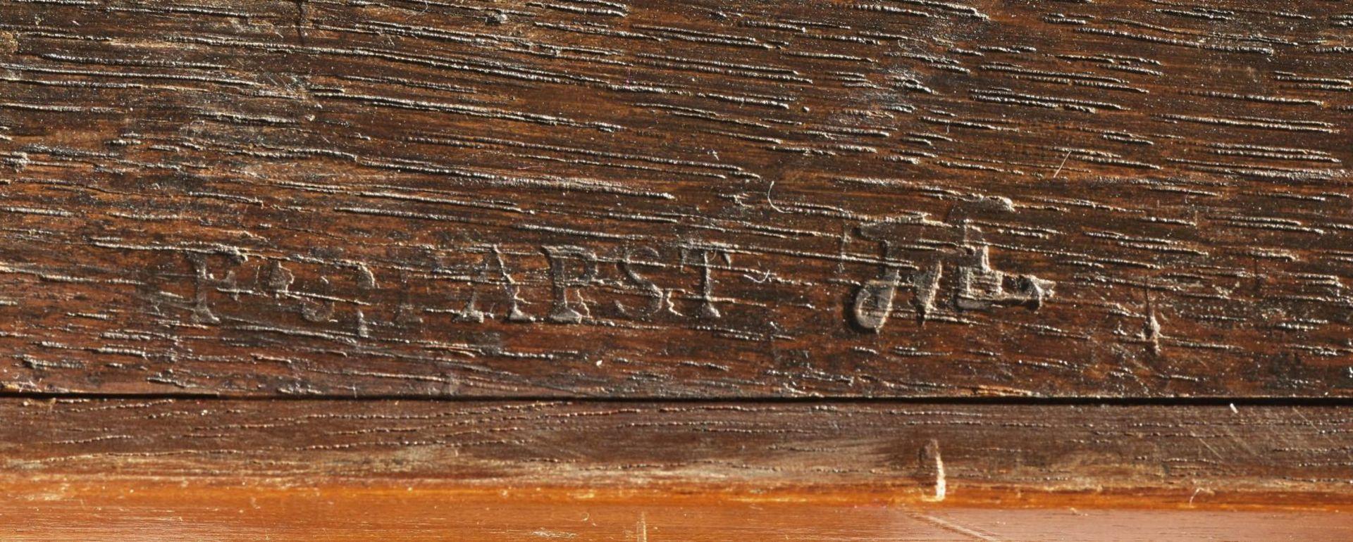 Schreibschrank (Secrétaire à abattant) - Image 3 of 3