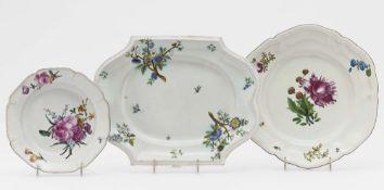 Zwei Platten und Teller