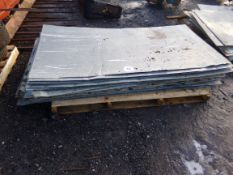 PALLET OF TIN SHEETS