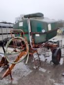 WATER BOWSER WITH MOBILE TROUGH
