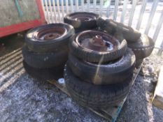 PALLET OF VARIOUS WHEELS & RIMS (+ VAT)