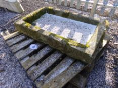 STONE TROUGH (+ VAT)
