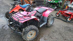 Honda rancher 4 wheeler