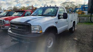 2003 Ford F250 Utility Truck
