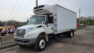 2017 International Reefer Box Truck