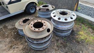 (7) Alcoa Aluminum Rims