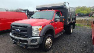 2013 Ford F550 6 Wheel Dump Truck