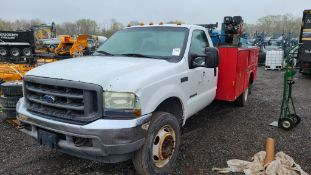 2002 Ford F550 Service Truck