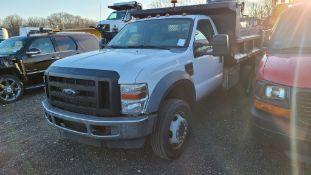 2009 Ford F550 6 Wheel Dump Truck