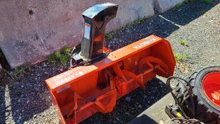 Kubota Bx2750d Snow Blower