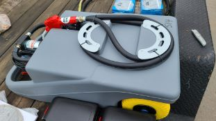 Diesel Fuel Caddy With Pump
