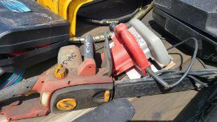 Chain saw, circular saw